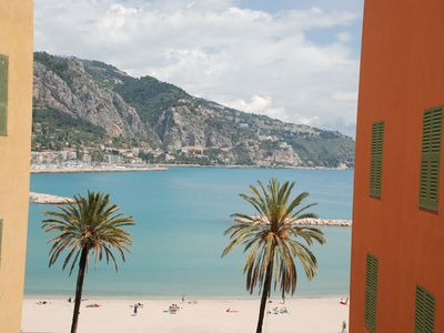 Photo for Menton studio nine town center 150m from the beach of Sablettes 15 min Monaco