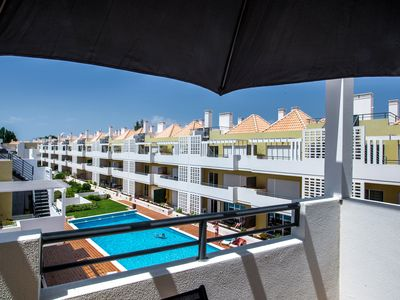 Photo for Cabanas de Tavira Apartment, Sleeps 2 with Pool, Air Con and WiFi