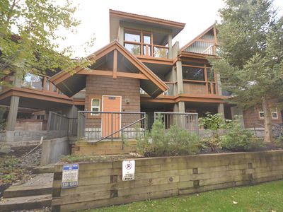 Photo for Whistler Town House with Private Hot Tub 2+Bed, Sleeps 6. With Private Hot Tub!