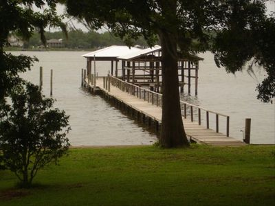 Photo for Custom Bay Front Home-  Near Sugar White Beaches & Fairhope