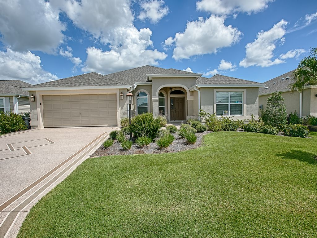 Relax on rabbit run luxury home with the most popular for The villages gardenia floor plan