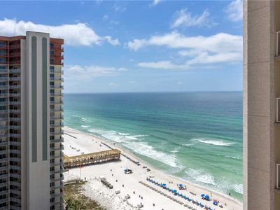 Photo for Shores of Panama 1705, Studio, Pool Access, WiFi, Spa, Sauna, Sleeps 4