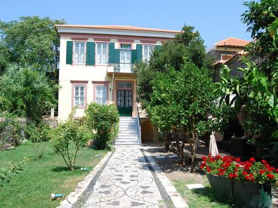 Photo for Rent your own 19th century luxury house in Molivos on Lesvos Island