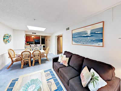 Photo for Steps to Beach 3BR — Minutes to Dining, Entertainment, Family Attractions