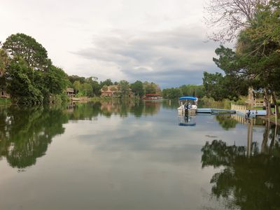 Photo for 90 minutes from Disney!  Waterfront  3 Bed- 2bath Boat Dock & Kayaks included