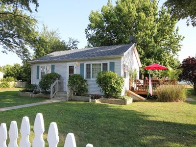 Photo for Beach Block Cottage at the Delaware Bay with 3 Bedrooms, 1 Bathroom. Minutes to area shore towns!