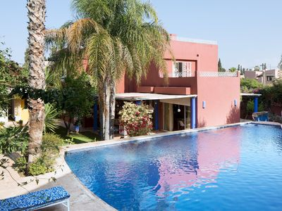 Photo for House in Marrakesh with Internet, Washing machine, Air conditioning, Pool (1004229)