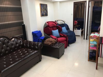 Photo for 3BR 2Bath 4QueenBed 3min CausewayBay MTR