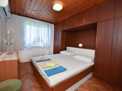 Photo for Bedroom in the center of Novalja with Air conditioning, Parking (638472)