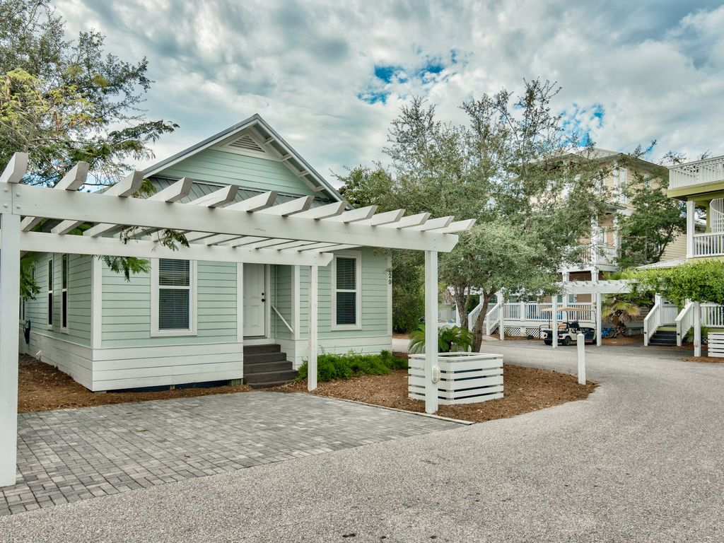 New listing cottage at camp creek on scenic 30a book now for Cottages of camp creek