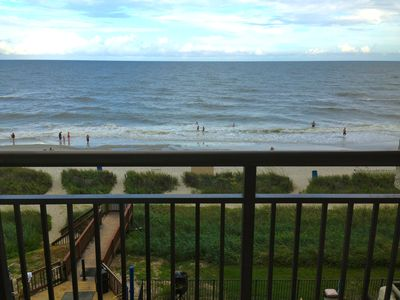 Photo for Magnificent Views at your Ocean Front Condo!!! PERFECT balcony views!