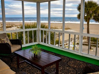 Photo for fabulous ocean front with panoramic views and tons of space both indoor & out
