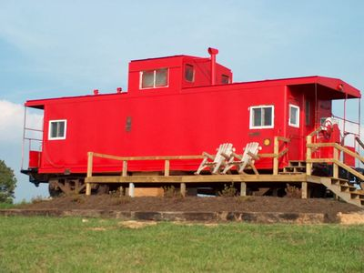 Photo for #042 - Authentic Railroad Cabooses And Depot Just Off The Blue Ridge Parkway