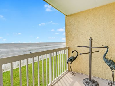 Photo for First-floor, oceanfront villa w/large covered balcony & shared pool