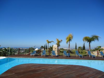 Photo for NEW. 4 bedroom villa with panoramic sea views