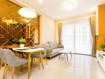 Photo for QLee-luxHOME - 2br Luxury cozy apt  with Gym & Pool