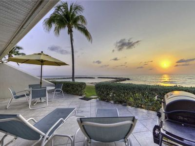 Photo for Oceanfront Unit at Sunset Cove on Seven Mile Beach - 50 Feet from Water's Edge! (Sleeps up to 7)