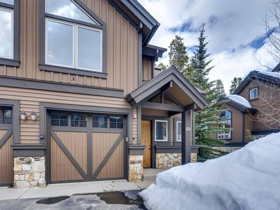 Photo for Ski In/Out - Upscale Townhome a Perfect Breckenridge Location.