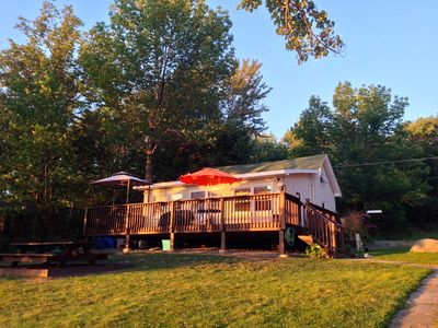 Cozy Peaceful 75' Lakefront House on Lake Henry!! Thanksgiving Wknd PROMO!!!