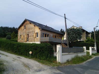 Photo for The Crouzillac Chalet with a panorama of the Sucs du Velay