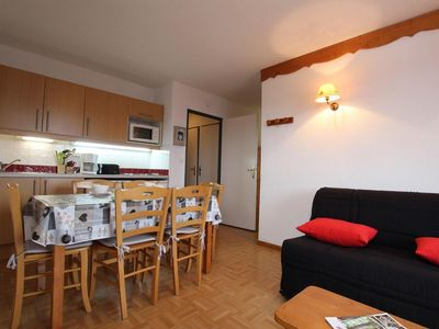Photo for 2nd floor, view valley, swimming pool, balcony, ski locker, 35m², Puy-Saint-Vincent
