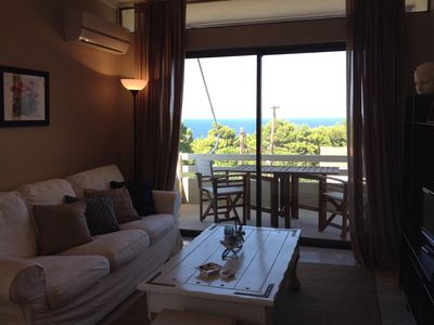 Photo for Beautiful apartment 3rd floor with sea view