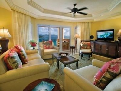 Photo for 5 Star Amenities and Service - 3 bedrms, 3.5 baths, Beach Front,  Fine Dining