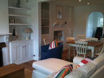 Photo for BIJOUX BEACHOUSE RETREAT IN THE HEART OF SALCOMBE WITH GARAGE