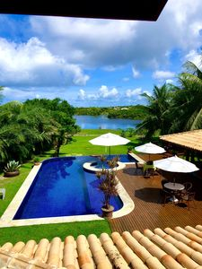 Photo for Beautiful Luxury House, 5 suites in Costa Do Sauipe