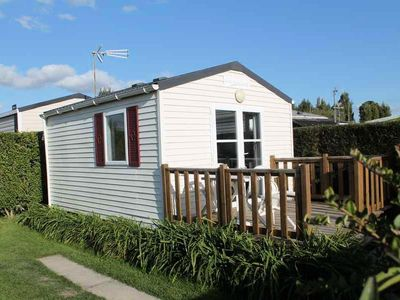 Photo for Camping Le Tarteron *** - Mobil home Lodge 2 rooms 2 persons