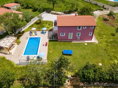 Photo for Modern villa in the heart of Istria with private pool and magnificent area