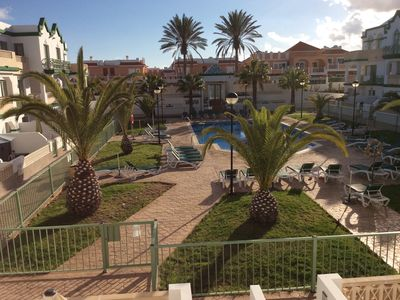 Photo for STUNNING GAUDIA COMPLEX, REFURBISHED 1 BEDROOM SOUTH FACING POOLSIDE APARTMENT