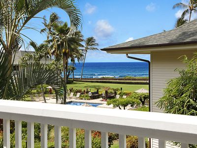 Photo for Poipu Kapili #20: Great Ocean view with AC!!