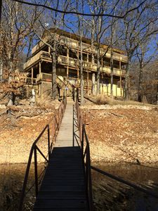Photo for 3 Story Waterfront Home/Multilevel Decks With Great View Of Lake