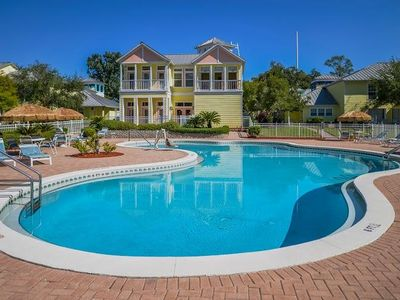 Photo for 1BR w/WiFi, Lake Access & Resort Pool Next to Fun Spot USA, 3 Miles From Disney!