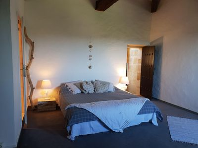 Photo for Charming guest room in a 16th century listed castle. In the heart of the vineyard!