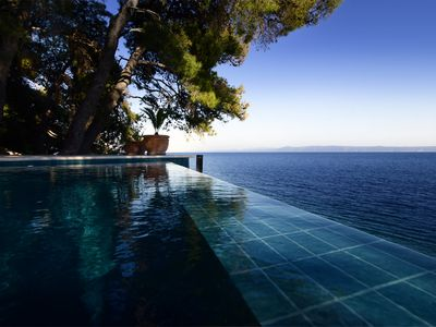 Photo for Exclusive Villa Rosemarine Right on the Adriatic Sea- Fully Serviced