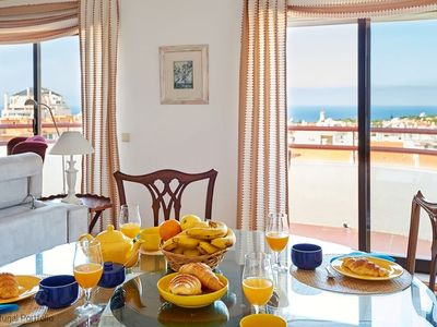 Photo for 1 BR apartment in Cascais w/ pool, sleeps 4 - great Sea view