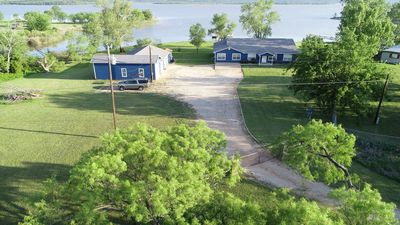 Photo for Possum Kingdom Waterfront Lake House / Private Boat Dock & Large Game Room