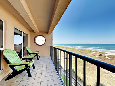 Photo for 4th Floor 2BR Beachfront Condo w/ Pool, Hot Tub & Beach Access Suntide ii 402