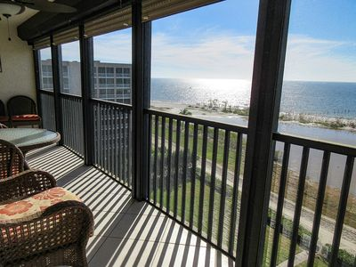 Photo for Soak Up The Sunshine! Terra Mar 903 Remodeled Beachfront Vacation Condo w/ Direct Gulf View! Heated Pool, Tennis, Elevator, WiFi