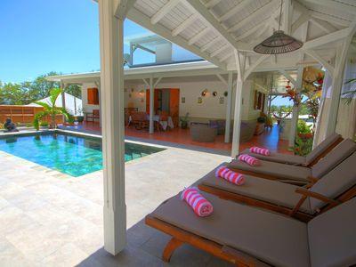 Photo for Villa with pool closed to the beach (MQDI75)