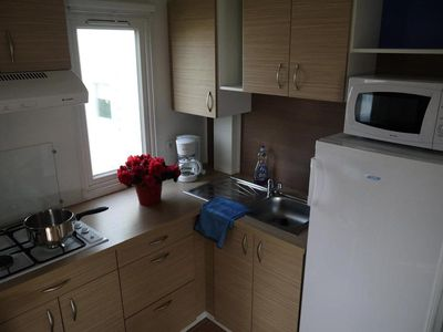 Photo for Camping Le Pré des Sables *** - Mobile Home 3 Rooms 4/6 People