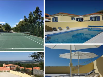 Photo for A villa with private pool and private tennis court, uniquely located