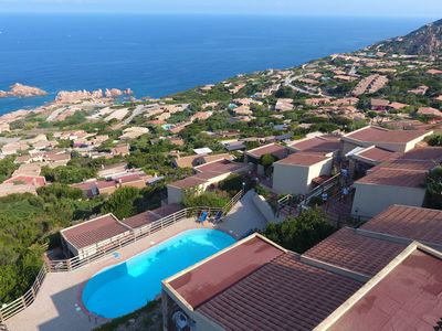 Photo for Sea view house with swimming pool
