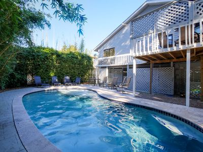 Photo for 2020 Updates. 4th Row Ocean, 4 Bd, Dog Friendly, Heated Private Pool