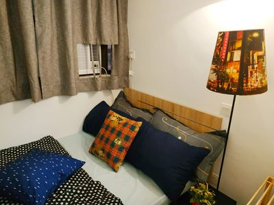 Photo for [728NR-8A] Cozy 1-BR apartment, Nathan Road, Mong Kok, 2-3 pax