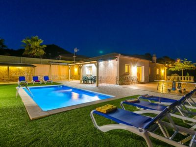 Photo for Club Villamar - Modern villa with 4 bedrooms, parking place and swing for the kids.