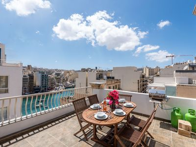 Photo for Holiday apartment St. Julians for 1 - 10 persons with 3 bedrooms - Holiday apartment