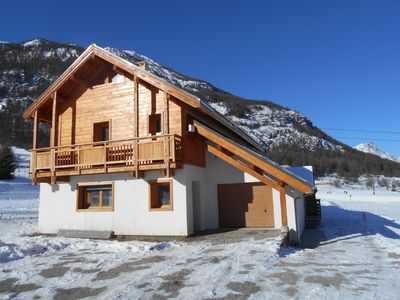 Photo for The slopes, triplex 6 people in a chalet Serre Chevalier 1400
